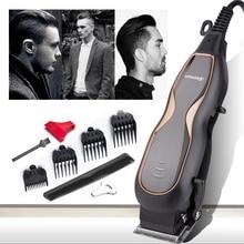 BaoRun professionnel tondeuses à cheveux muet Ultra puissance électrique tondeuse à cheveux Salon de coiffure hommes coupe de cheveux Machine avec cordon 220V