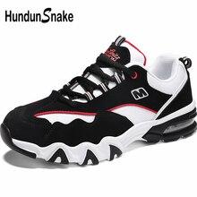 Hundunserpent en plein Air hommes chaussures de course Sport hommes chaussures de Sport hommes baskets été Air chaussures noir formateurs marche chaussures B-035