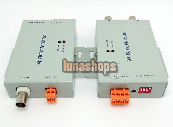 LN003118 CCTV cámara de seguridad de largo alcance BNC amplificador de vídeo anti-interferencia versión verde