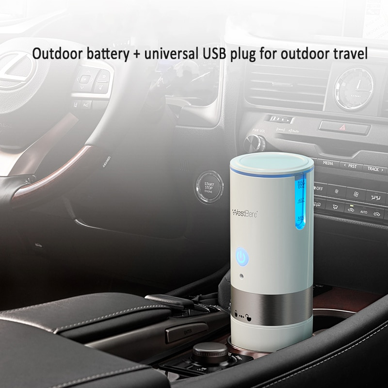 American Portable K-cup Capsule Coffee Machine USB Car Travel Coffee Maker Fully Automatic Mini Small Household