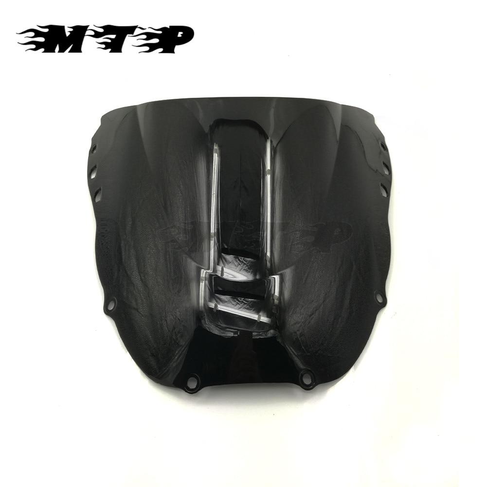 Negro deflectores de viento para motocicleta parabrisas encaja para Honda CBR919RR CBR 919 RR 1998; 1999 moto parabrisas de plástico
