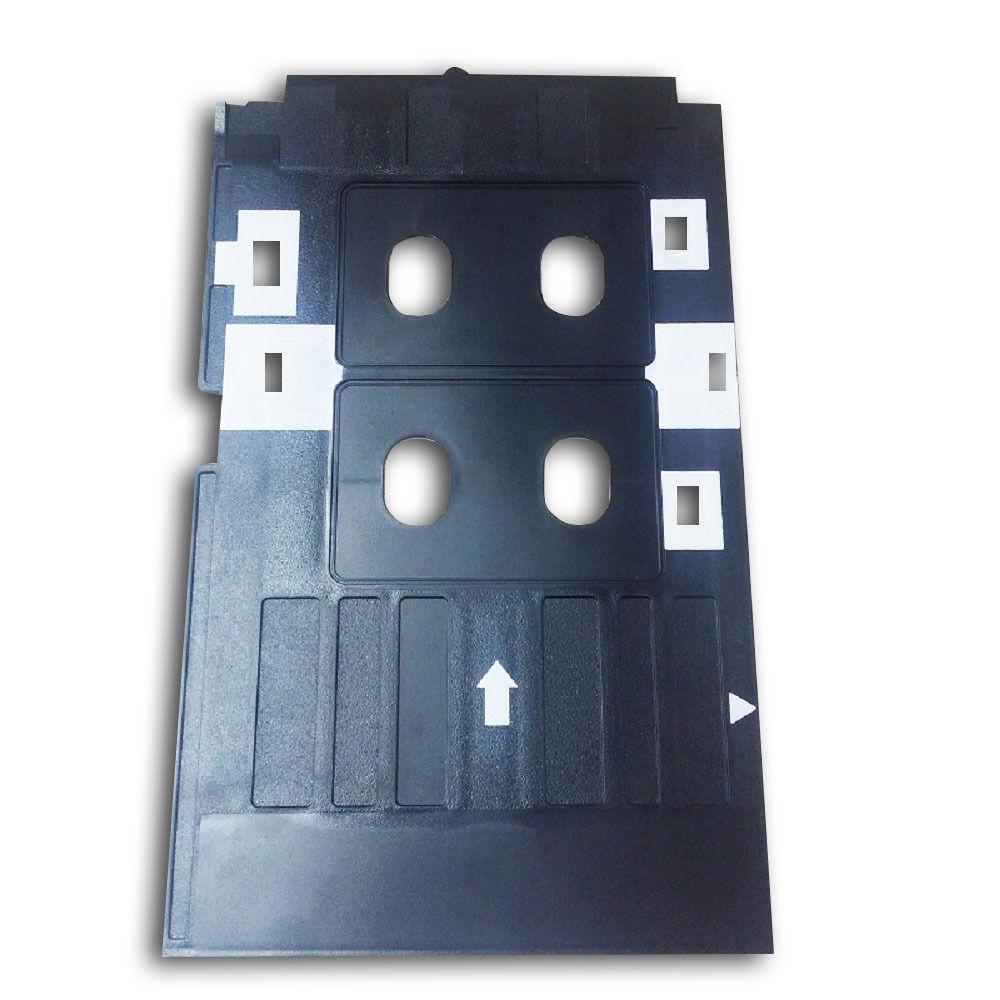 FORMA de TINTA a Jato de tinta PVC ID Card Bandeja de Plástico Bandeja De Cartão para epson R390 R330 t60 p50 R90, R330 L801 L800 L805 Px700w, Px800FW, Px665, p