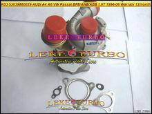 Turbocompresseur, pour AUDI A4 A6 VW Passat B5 1.8L BFB APU ANB AWT AEB 53039700029 T, K03 53039880029 53039880025 53039880005