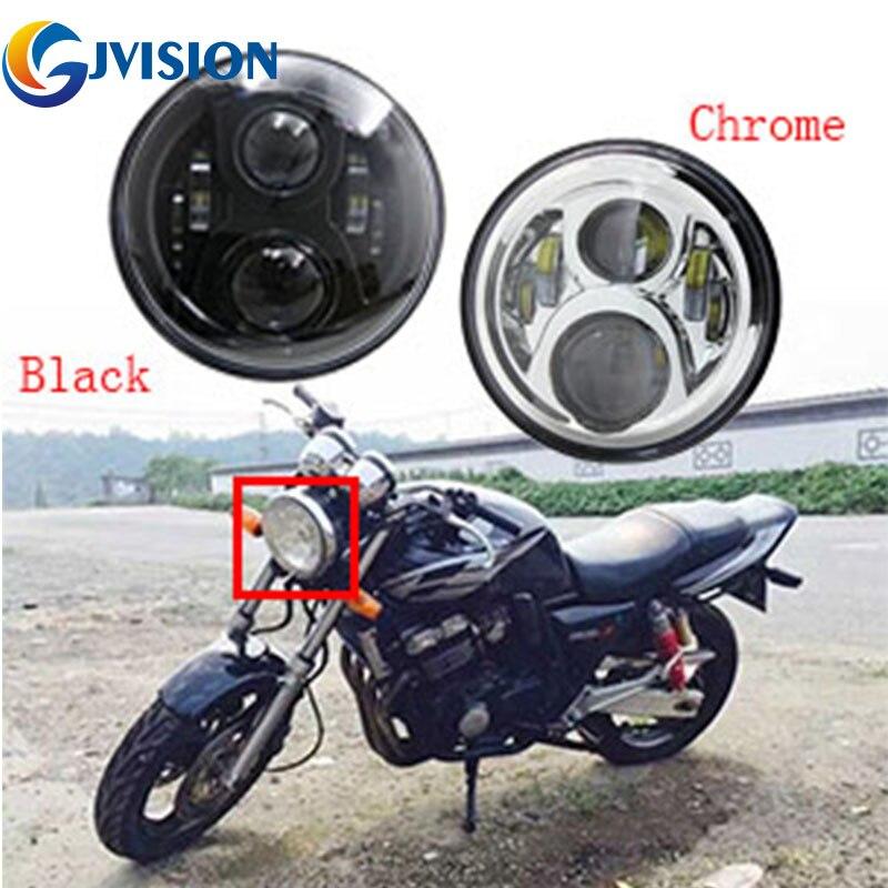 "El más nuevo 7 ""pulgadas faro led para motocicleta bicicleta faro para Honda CB400 CB500 CB1300 Hornet 250 de 600 de 900 VTECVER250"