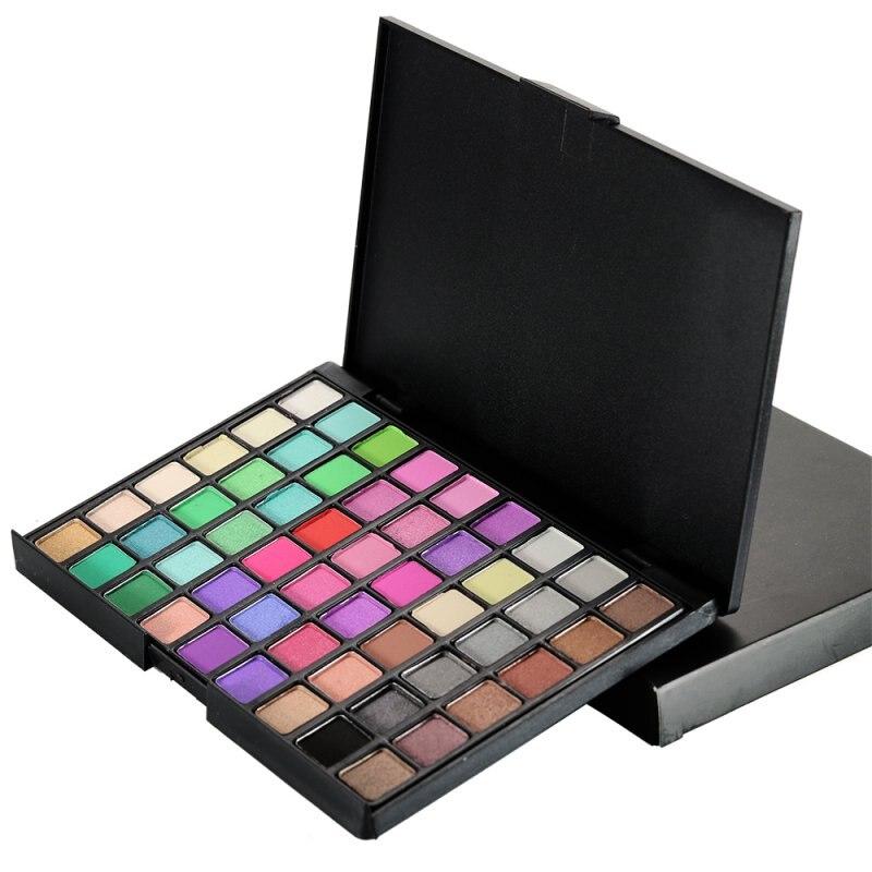1 Uds paleta de sombras de ojos de diamante brillante paleta de maquillajes Kit de maquillaje colores naturales de tierra Maquiagem 54 colores
