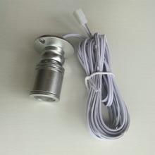 Led encastré armoire mini spot lumière 110V 220v downlight 12v dc bijoux spectacle comprennent Led pilote plafonnier lampe