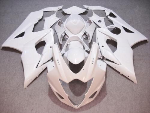 كاملة هدية أطقم لسوزوكي GSX-R 1000 K5 05 06 GSXR1000 2005 2006 هدية حقن ABS الأبيض دراجة نارية Cowlings