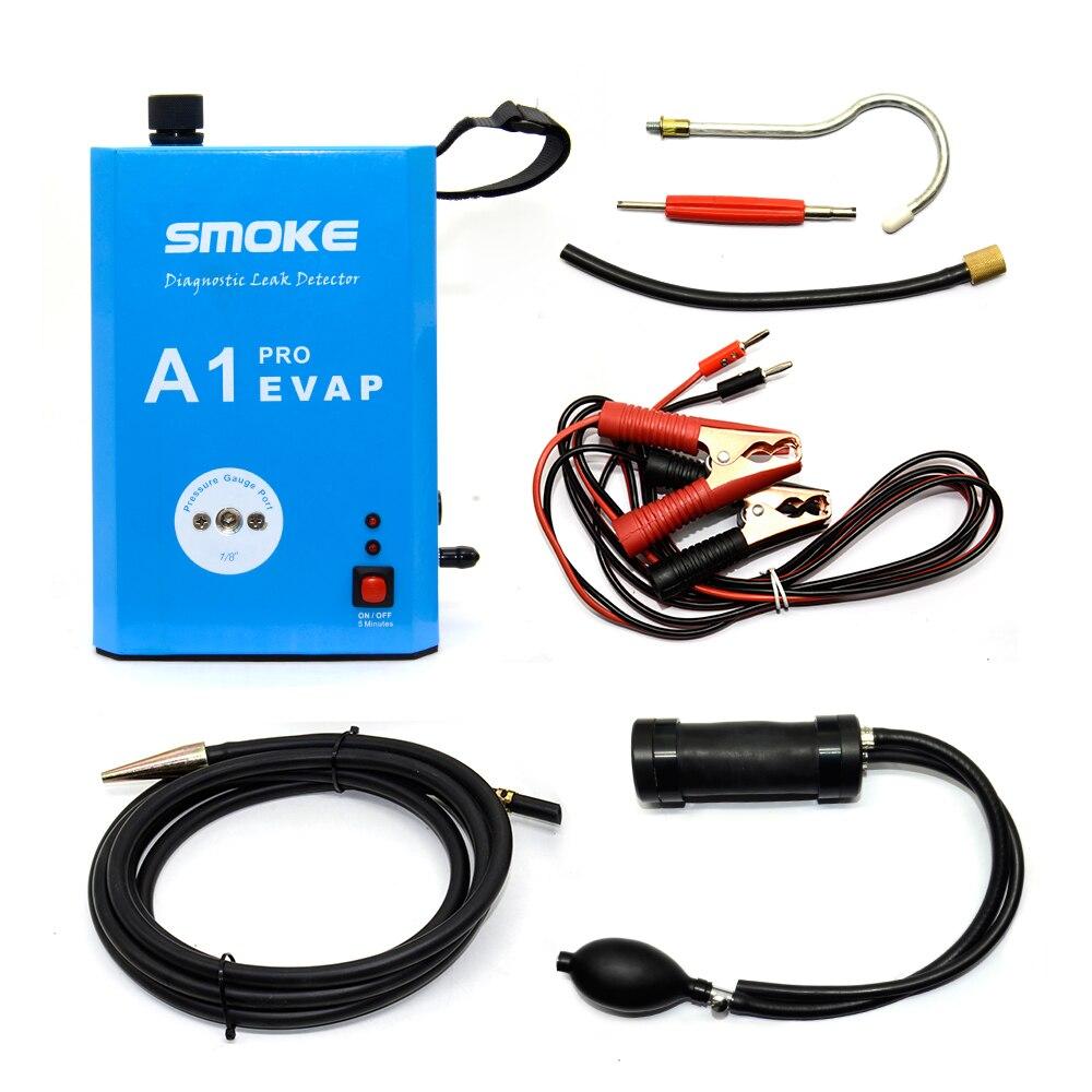 Tecnología atractiva detector de fuga para diagnóstico de humo A1 Pro EVAP para motocicleta/coche/SUV/camión