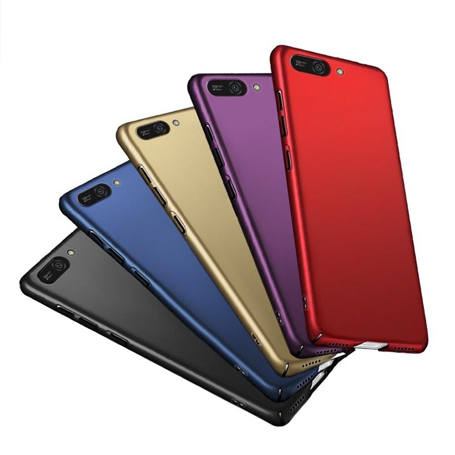 Para Huawei Y5 2018 funda para Huawei Y5 Prime 2018 funda trasera rígida para Huawei Y5 Y 5 lite 2018 casos Coque parachoques bolsas