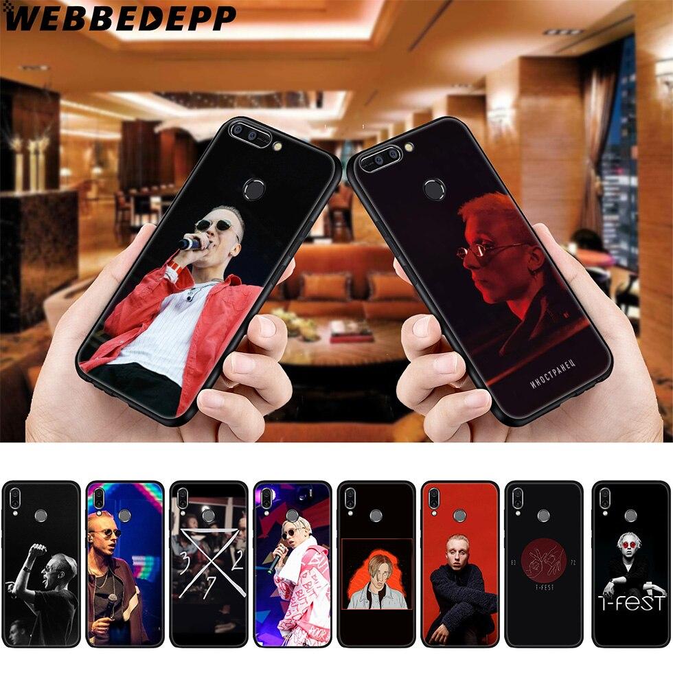 WEBBEDEPP T-Fest Rapper Soft Case for Huawei P8 P9 P10 P20 P30 Lite Pro P Smart Z Plus 2019 Y6 Prime 2018 2017 Lite Mini