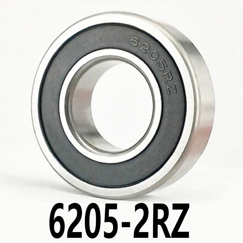 Lote de 1 unidad, Bola de rodamiento de Motor de alta velocidad 6205-2RZ 6205-2RZ, 25x52x15mm, 25x52x15, alta velocidad, poco ruido