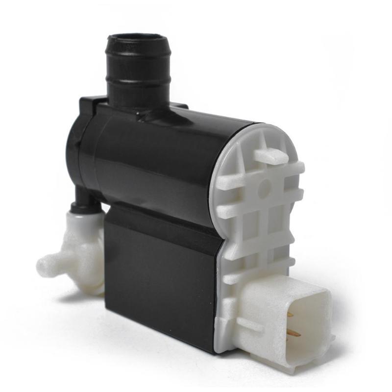 Двухконтурный мотор-насос для омывателя лобового стекла 98510-2C100 с втулкой Аксессуары для мотоцикла лобовое стекло для HYUNDAI для KIA
