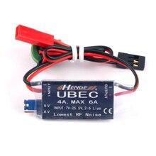 Ввод HENGE 4A UBEC 7V-25,5 V 2-6S Lipo выход 5V 6V / 4A Непрерывный Макс 6A переключатель режима BEC для радиоуправляемых вертолетов, автозапчасти