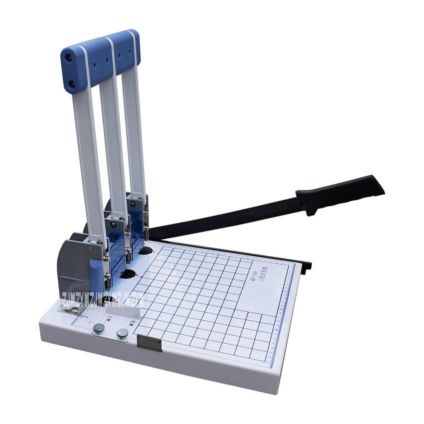 QY-15A ثلاثة ثقب اللكم آلة وثيقة ملزم اللكم آلة ملف ملزم آلة الناخس ورقة قطع الحفر آلة