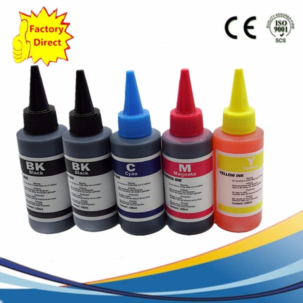PGI-5 CISS Refill Dye Ink Pixma iP3300 iP4200 iP4300 iP4500 iP5200 iP5200R iP5300 iX4000 iX5000 Injet Printer