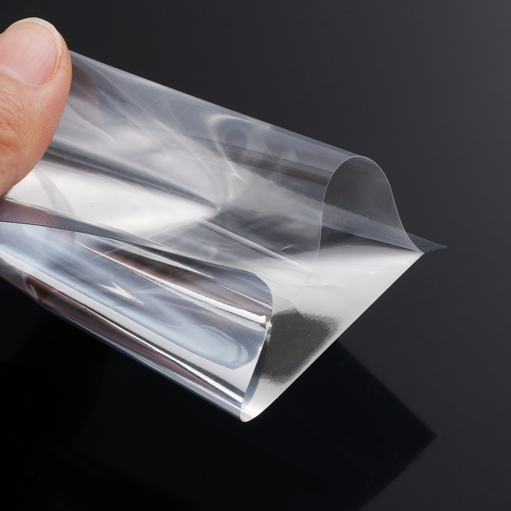 100PCS Silver Heat Seal Aluminium Foil Bags Vacuum Sealer Pouches Food Grade Storage Bag Kitchen Supplies Household Home Tools