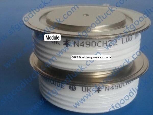 N490CH22 Converter Grade Capsule Thyristor Scr 2200V 495A Gewicht 510G
