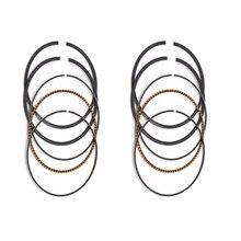 Pièces de moteur de moto STD ~ + 100 alésage de cylindre taille 64 64.25 64.5 64.75 65mm Pistons anneaux pour Honda VLX400 VRX400 NV400 NC25E