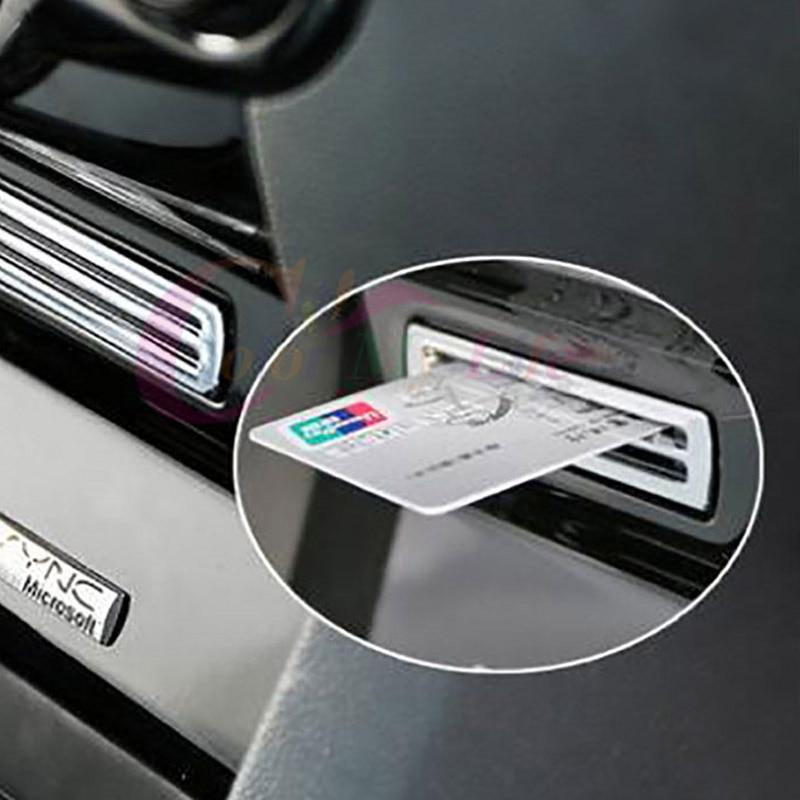 My Good Car Chrome Sequins Trim Sticker for Ford Ecosport New Fiesta 2009 2010 2011 2012 2013 2014 2015 2016
