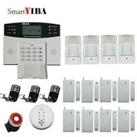 SmartYIBA     systeme dalarme de securite domestique sans fil  intelligent  GSM  russe  anglais  espagnol  polonais