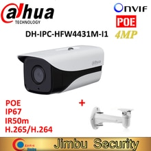Dahua IPC-HFW4431M-I1 4MP caméra IP H.265 H.264 ONVIF réseau Full HD IP67 IR Mini caméra POE cctv réseau balle avec support