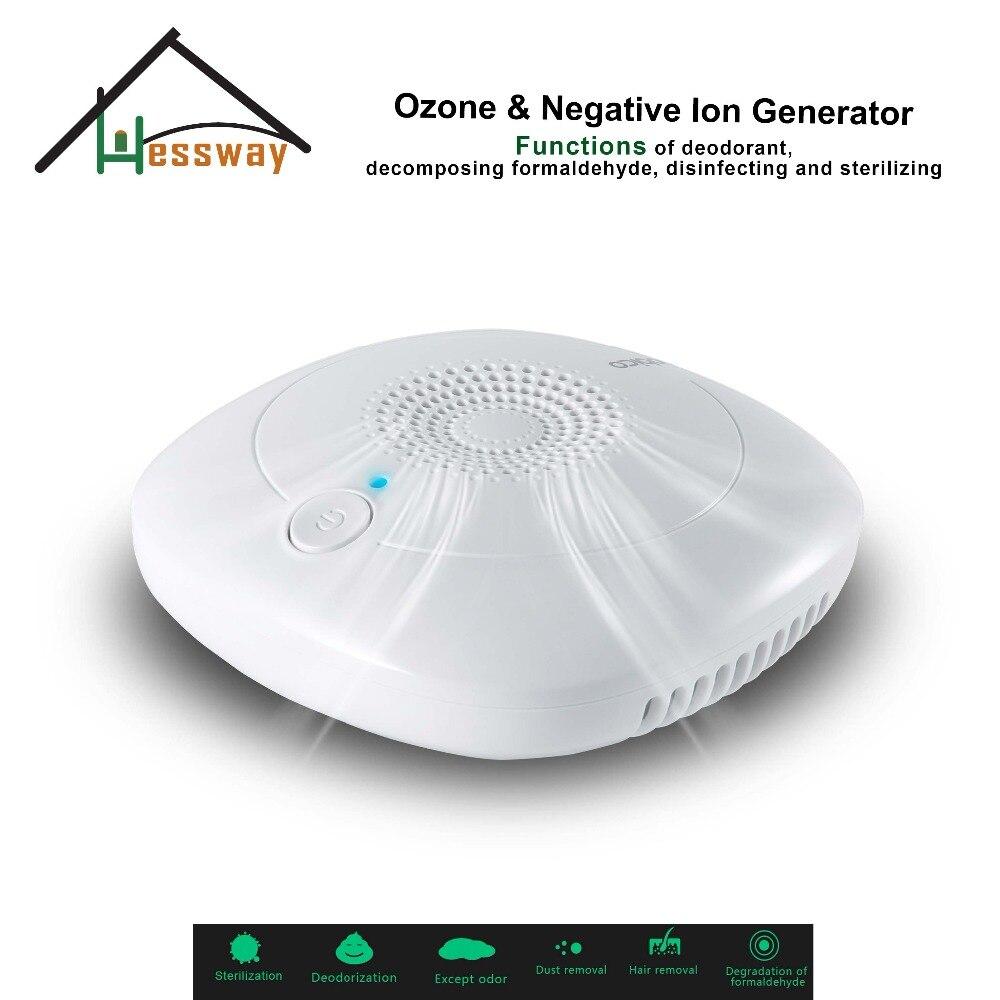 Desodorante purificador de aire ionizado negativo generador de ozono de cerámica portátil con enchufe europeo para habitación, estudio, habitación de mascotas, inodoro