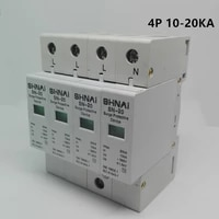 spd 10ka 20ka 3pn 4p surge arrester protection device electric surge protector d 385v ac