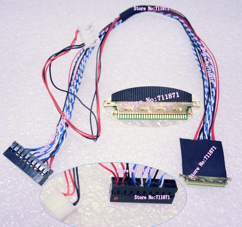 LVDS 6Bit 1Ch 0.5 Pitch 30 P I-PEX 20453-030 T Tela LCD Linha de Cabo passo 0.5 IPEX 30 P 20453 030 T Tela Lcd Linha de Cabo de Fio de Cabo