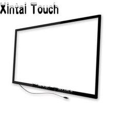Écran tactile multi infrarouge de capteur infrarouge de 60 pouces, écran tactile Multi de 10 points pour la TV intelligente, TV tactile de LED/tableau blanc intelligent
