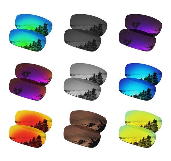 Dropshipping SmartVLT lentes polarizadas de repuesto para Oakley Crosshair 2,0 gafas de sol-Paquete de múltiples pares