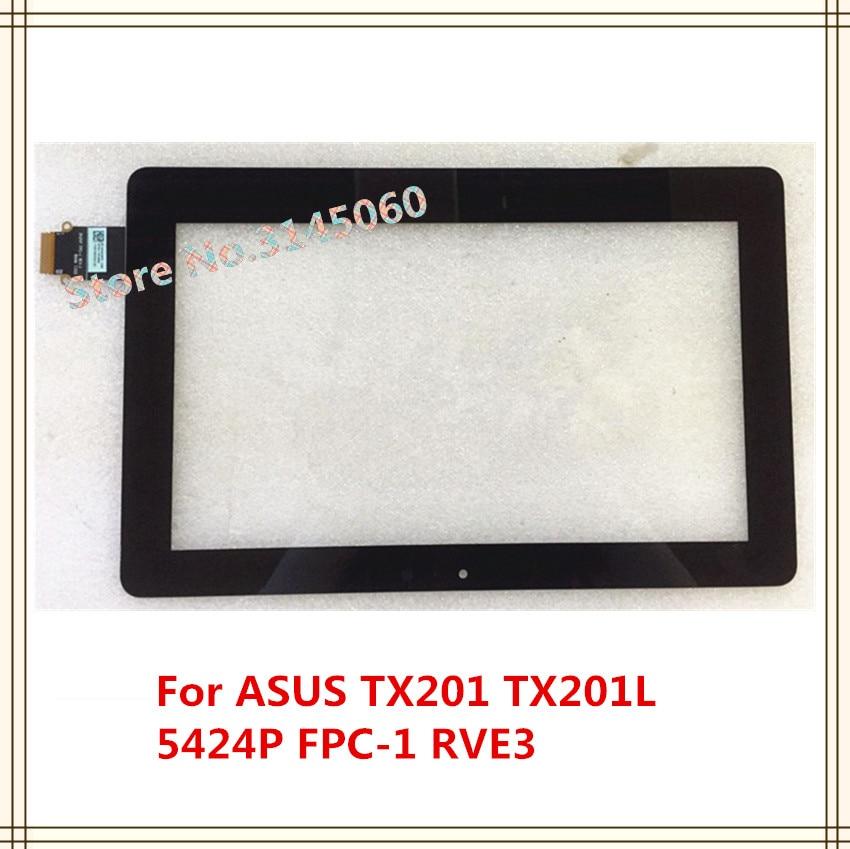 Pantalla exterior Digitalizador de pantalla táctil de 11,6 pulgadas 5424P FPC-1 RVE3 06WW 1345 cable largo versión para ASUS TX201 TX201L pantalla táctil