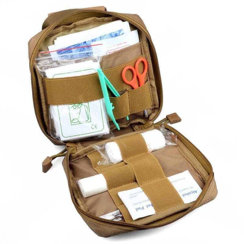 Molle emt kit de primeiros socorros saco sobrevivência tático multi kit ferramenta utilitário cinto bolsa 2019 quente