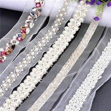 Ruban ruban en dentelle perlée 1yards   31 styles pour choisir un tissu de garniture, cordon en filet de dentelle pour la décoration, bricolage, col brodé, cordon pour la couture