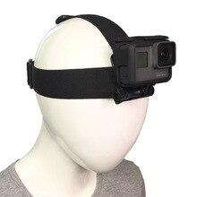 2018 Action caméra accessoires bandeau tête sangle casque support pour Gopro Hero 7 6 5 4 3 + Xiaomi Yi 4 K Sjcam SJ4000 EKEN Cam