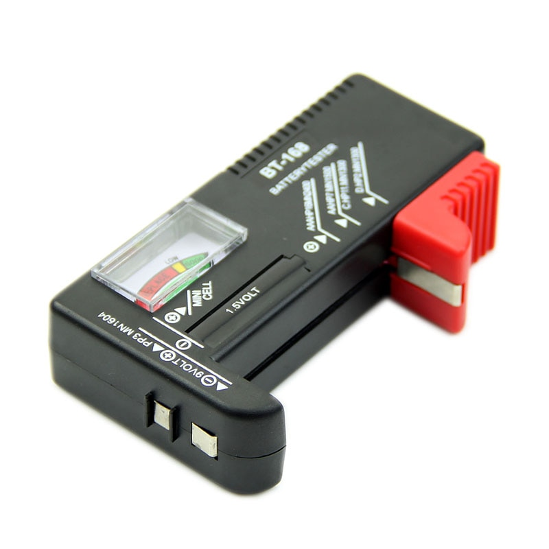 Universal Battery Tester AA AAA C D 9V Button Cell Checker Volt Tester Checker Drop Shipping Support