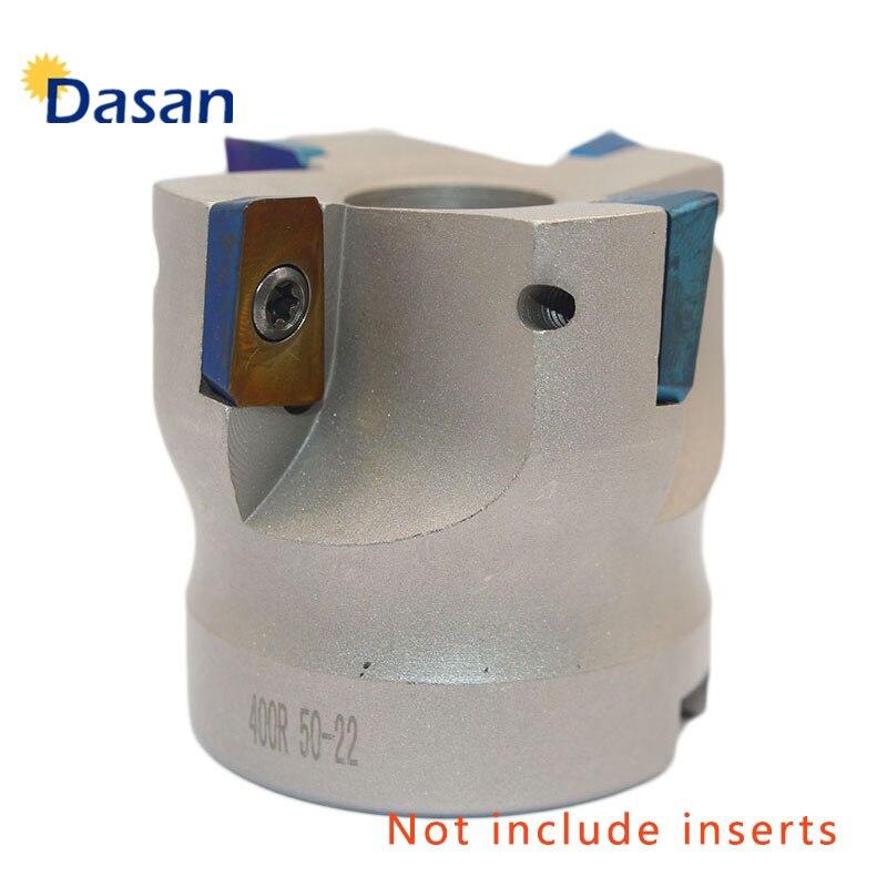1pc bap 400r 50 22 rosto indexável fresa titular cnc torno de metal máquina ferramenta para apmt1604 inserções