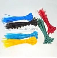 new 2014 free shipping multifunction 500 pcslot 3x100 mm self locking plastic nylon cable tie zip ties black