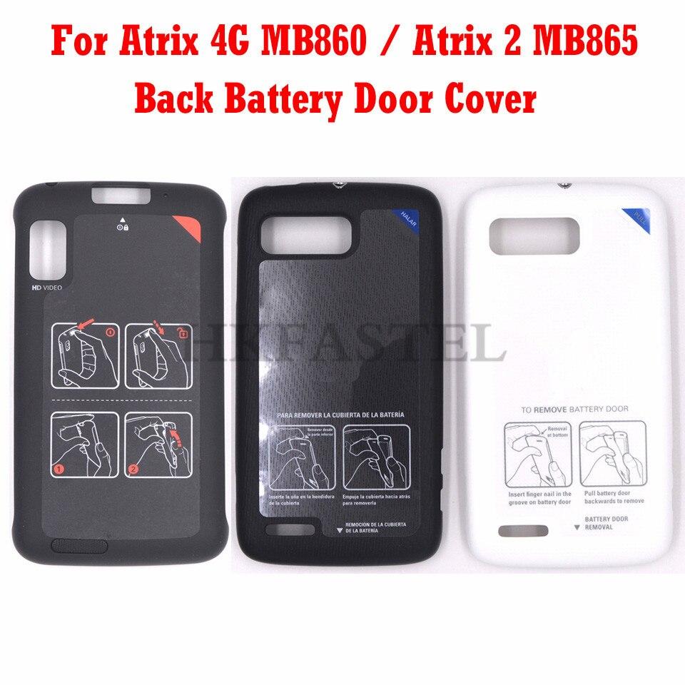 HKFASTEL para Moto ATRIX 4G MB860 carcasa para Motorola MB865 Atrix actualiza Fuath Edison 4G Atrix 2 cubierta de la tapa de la batería caso
