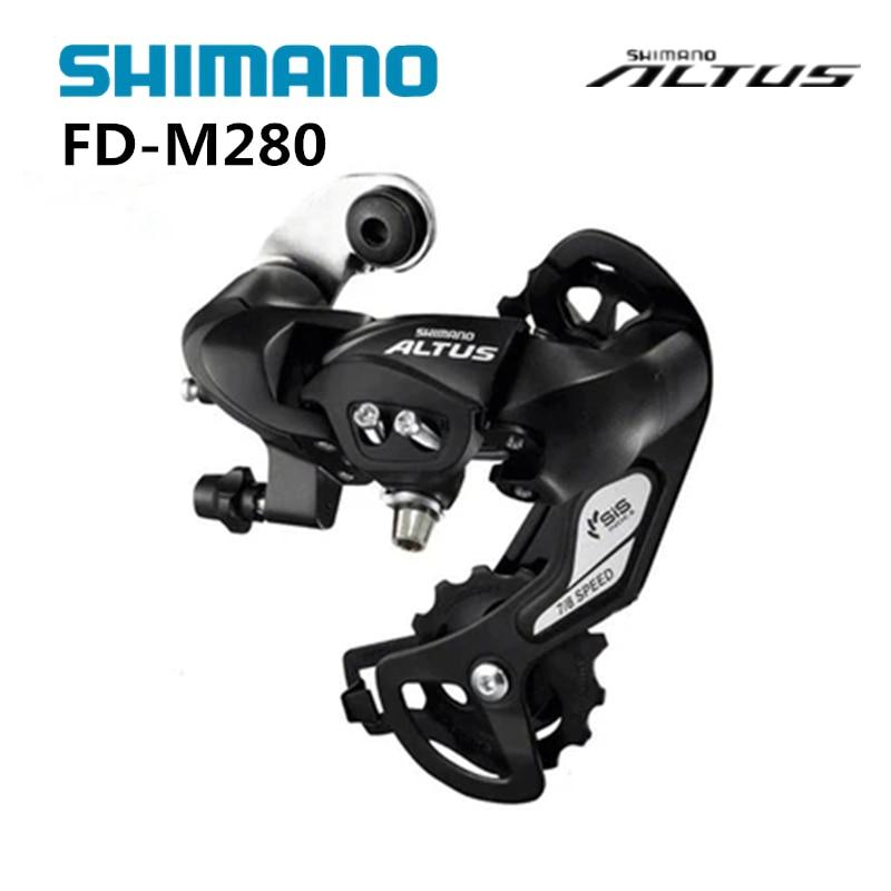 Desviador trasero Altus RD-M280 de 7/8 velocidades, desviador trasero para bicicleta de montaña, Compatible con M280