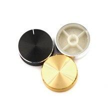 الفضة/الذهب/أسود الألومنيوم التحكم في مستوى الصوت مكبر للصوت مقبض عجلة عالية الجودة