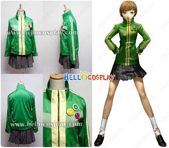 Persona 4 Косплей Chie костюм сатонака H008