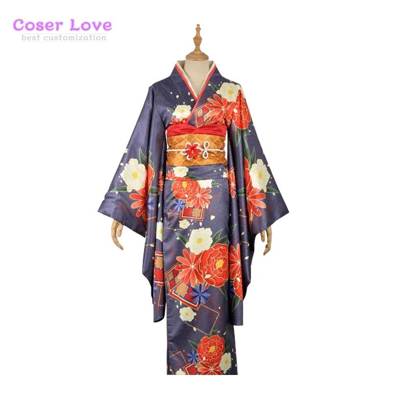 LoveLive! Kurosawa Dia kimono haori Cosplay traje de carnaval, halloween traje de Navidad
