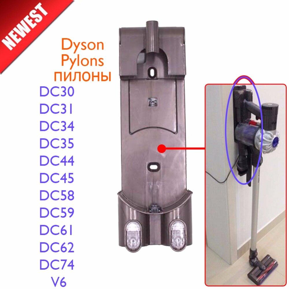 Staubsauger Teile Pylonen ladegerät aufhänger für dyson DC30 DC31 DC34 DC35 DC44 DC45 DC58 DC59 DC61 DC62 DC74 V6 nicht pinsel filter