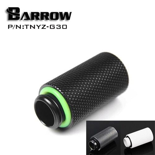 TNYZ-G30 Barrow, extensor macho a hembra de 30mm, racores de refrigeración de agua G1/4 macho a hembra