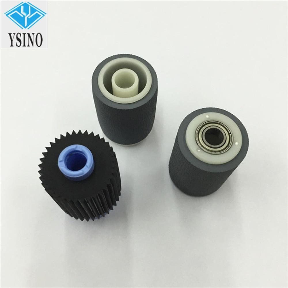 YSINO X 4 Conjuntos Pickup Roller Papel Compatível Para Konica Minolta bizhub 600 601 750 751