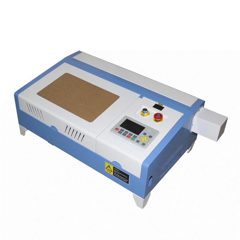 300X200mm working size CO2 laser cutter 3020 pro 50W mini engraving machine