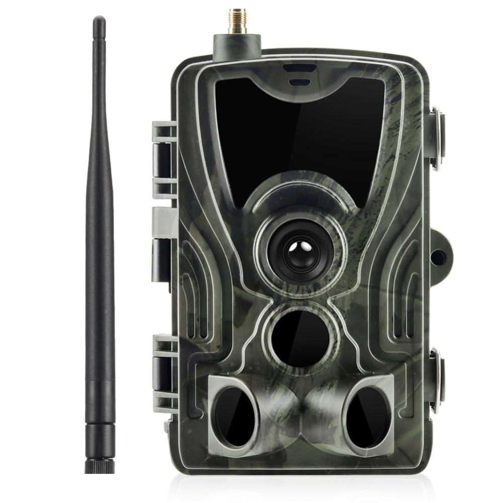 Hunting Trail camera 2G SMS/MMS/SMTP Wild camera HC-801M photo traps for animal 16mp HD night version scout Automatic camera недорого