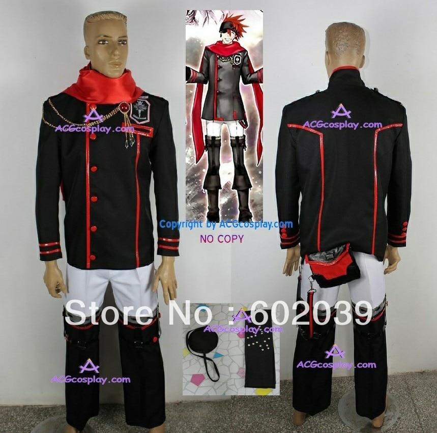 D.Gray-man Lavi Cosplay Costume halloween