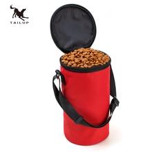 TAILUP bol de voyage pour chien repliable   Nouveau bol de voyage pour chien de Hamster de haute qualité pour animaux de compagnie, récipient de nourriture sèche, sac étanche