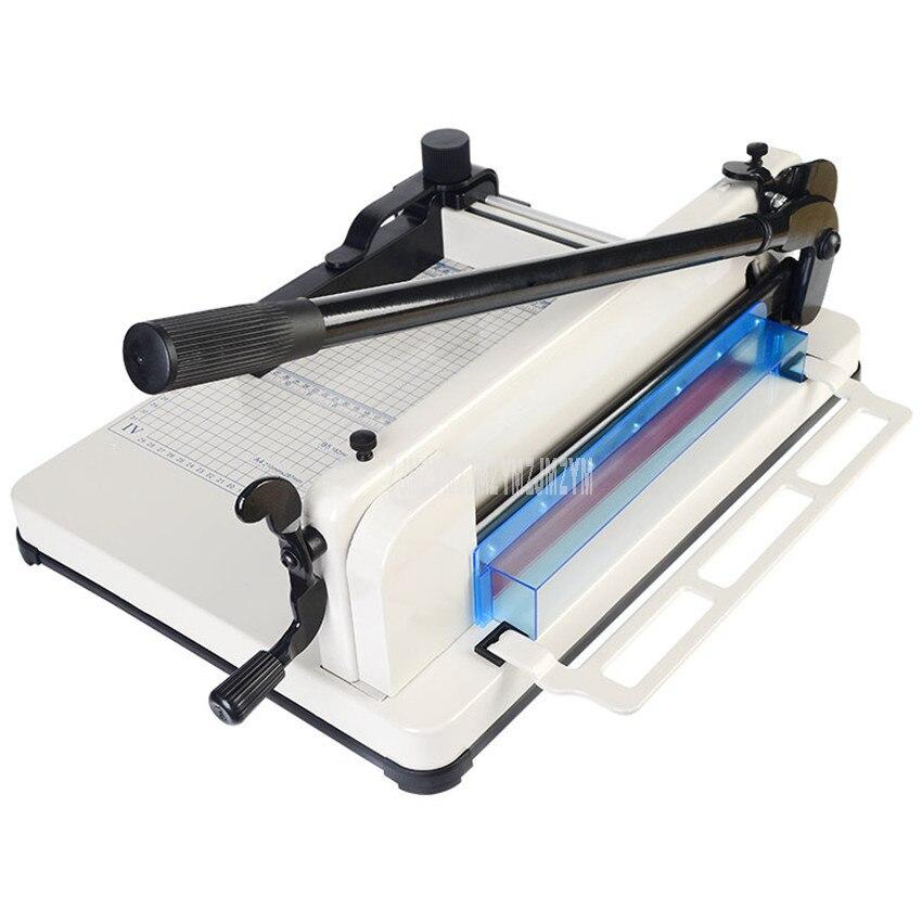 1 ud. Cortadora de papel A4 de alta resistencia, cortadora de papel, cortadora de fotos Manual, máquina cortadora de papel con un grosor máximo de 4cm 858A4